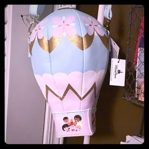 Disney its a small world hot air balloon crossbody